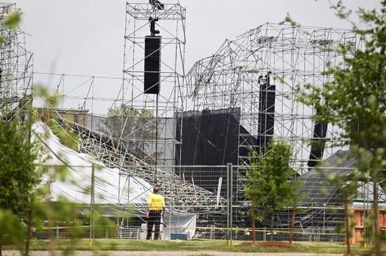 舞台安全问题