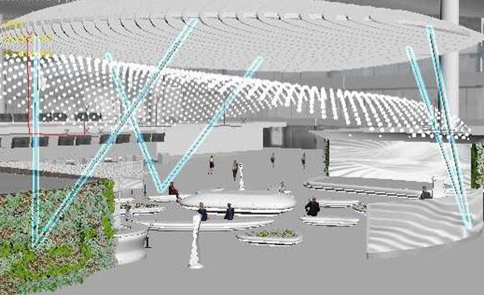机场铝合金太空架