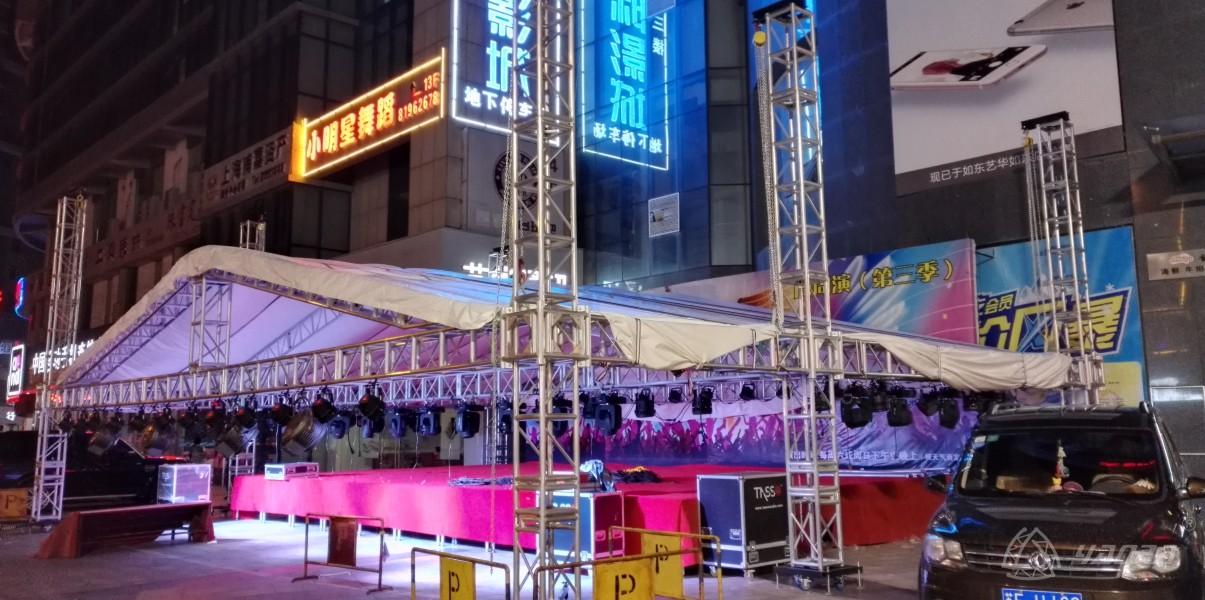 舞台灯光桁架演出棚架