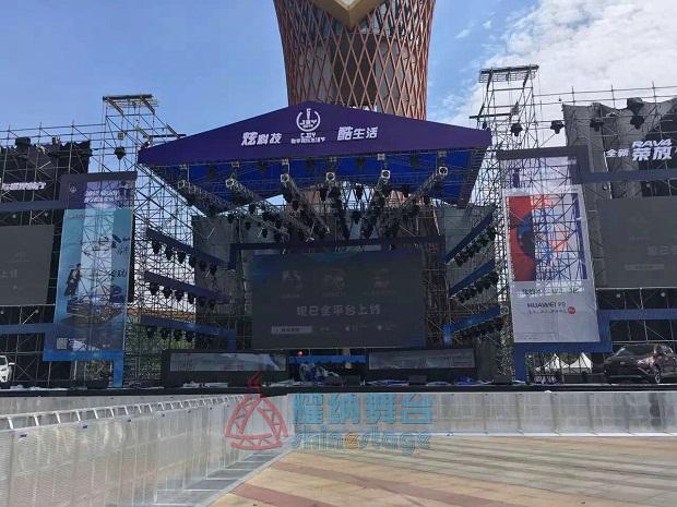 数字娱乐生活节舞台防暴栏