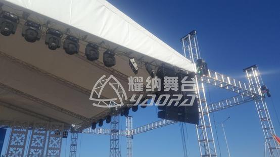 世博会舞台太空桁架
