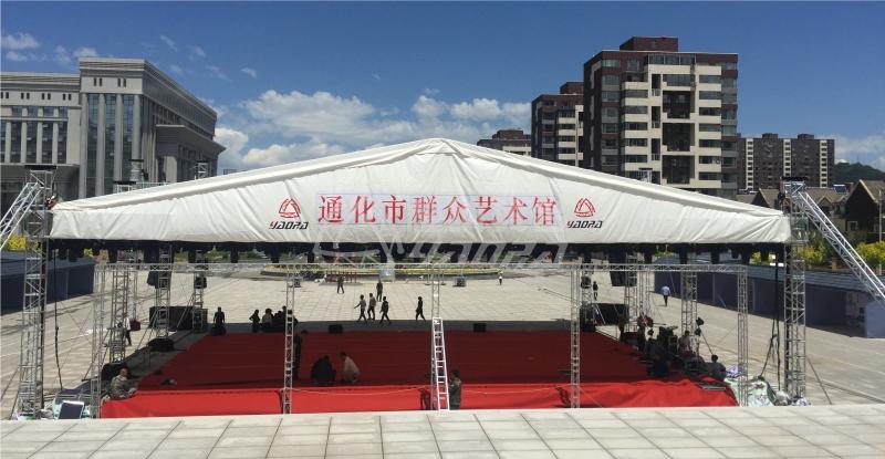 大型舞台太空架抗风能力8级