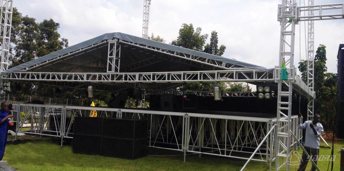 拼装舞台螺丝桁架演唱会工程