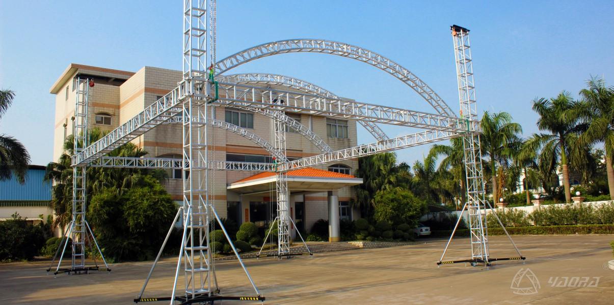 波多黎各演出活动定制金字顶舞台棚架