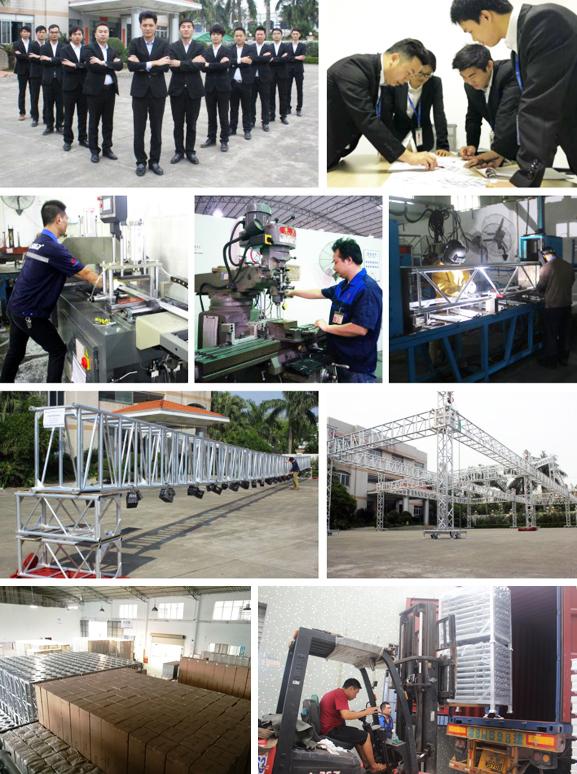 大型舞台桁架厂家服务