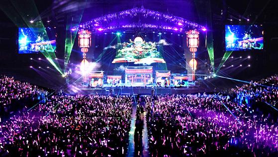 大型演唱会舞台灯光桁架