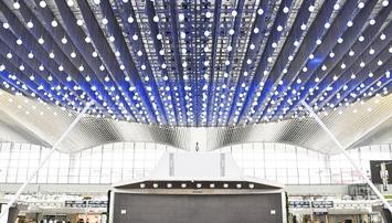 大型吊顶铝合金灯光桁架