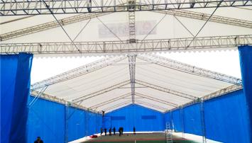 大型户外舞台棚灯光桁架篷房