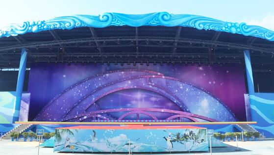 文化旅游节舞台灯光桁架