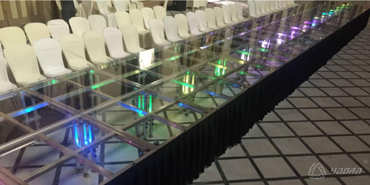 阿根廷时装秀玻璃快装舞台