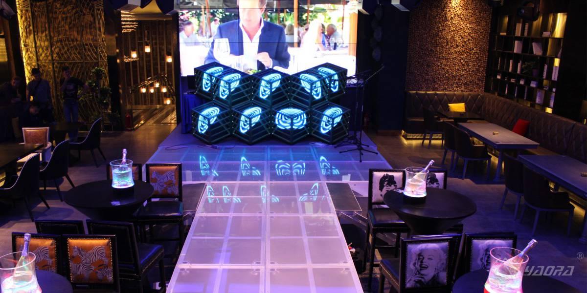 酒吧音乐餐厅异形舞台定制