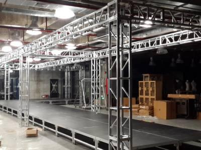 舞台灯光架的用途