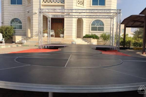 婚礼派对活动铝合金创意舞台