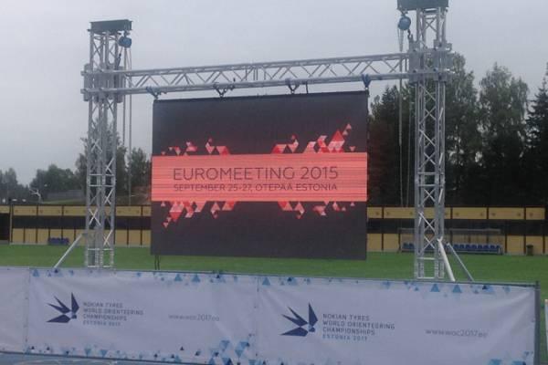 国外Euromeeting2015运动场舞台桁架