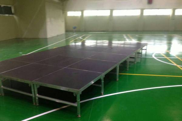 台湾学校体育馆铝合金活动舞台
